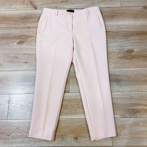Talbots Baby Pink Lined Trousers Size 10P